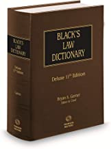 Black's Law Dictionary, Deluxe 11th Edition