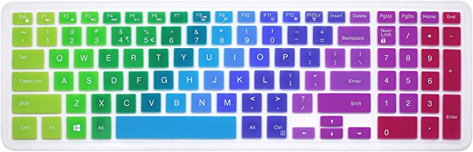 Silicone Keyboard Cover Skin for 15.6