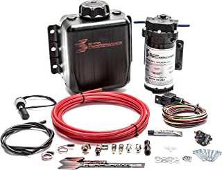 Stage 1 Boost Cooler™ Forced Induction Water-Methanol Injection Kit (Red High Temp Nylon Tubing, Quick-Connect Fittings)