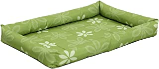 MidWest Homes for Pets Paradise Floral with Teflon Fabric Protector, 30-Inch, Green