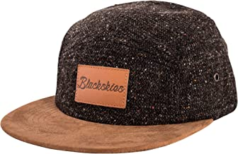 Blackskies Obsidian 5-Panel Hat | Men Women Premium Baseball Cap Dad Snapback Strapback Hip Hop Urban Wool