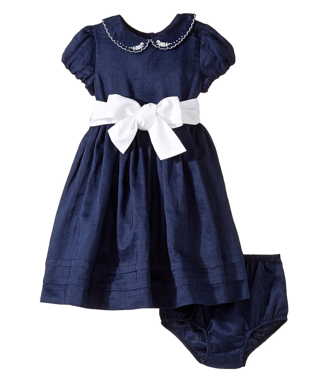 [ラルフローレン] Ralph Lauren Baby レディース Ramie Linen Woven Dress (Infant) ドレス [並行輸入品]