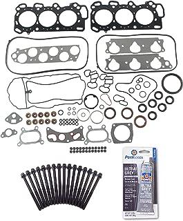 Head Gasket Set Bolt Kit Fits: 05-07 Honda Accord 3.0L V6 24v SOHC JNA1 i-Vtec HYBRI