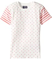 Toobydoo - Hearts and Stripes Tee (Toddler/Little Kids/Big Kids)