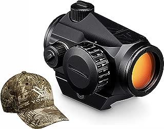 Vortex Optics Crossfire Red Dot Sight - 2 MOA Dot with Vortex Hat