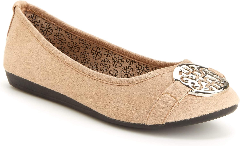 Harborsides Anabel Women Comfort Flats - Memory Foam Insole, Flex A Lite Outs.