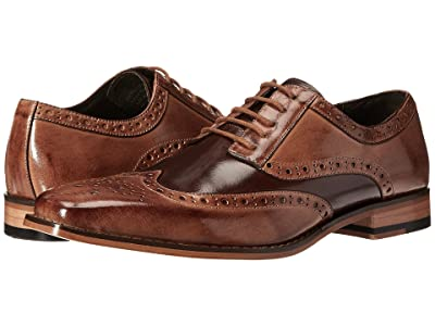 Stacy Adams Tinsley Wingtip Oxford (Tan/Brown) Men