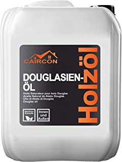 CAIRCON Douglasien Öl Terrassenöl Gartenholzöl Holzöl Pflege-öl Lärchenöl - 10L
