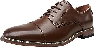 VOSTEY Men's Oxford Classic Business Derby Formal Dress Shoes for Men