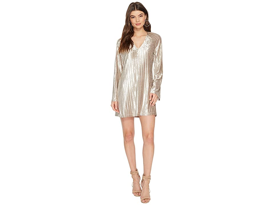 The Jetset Diaries Veronica Tunic Dress (Champagne) Women