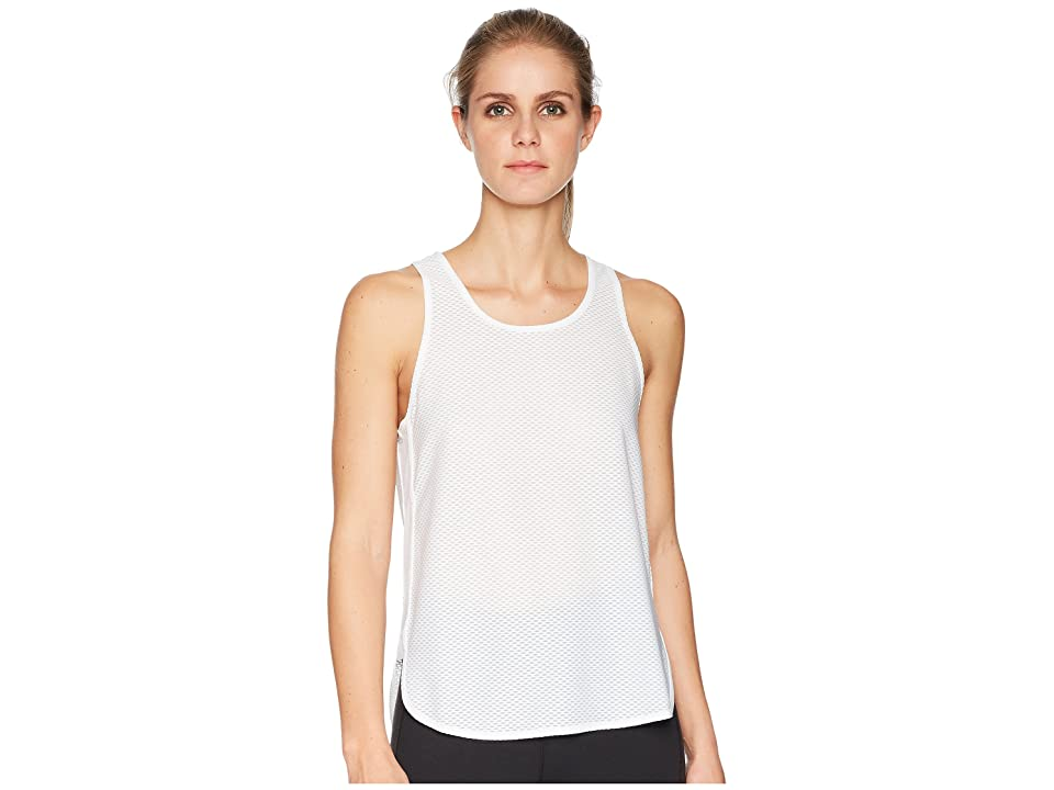 New Balance Determination Mesh Tank Top (White) Women