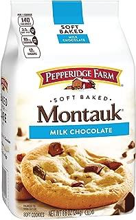 Pepperidge Farm, Montauk, Soft Baked, Cookies, Milk Chocolate, 8.6 oz., Bag