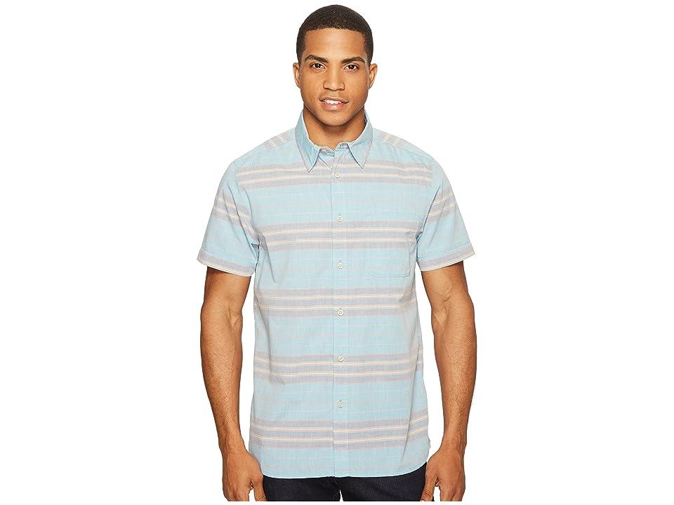 The North Face Chambray Pursuit Shirt (Blue Moon Stripe (Prior Season)) Men