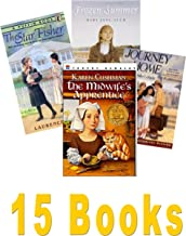 Historical Fiction Books: My Name Is Not Angelica; Frozen Summer; Forty Acres & Maybe a Mule; Foster's War; and One for All; a Journey Home; Good Bye Vietnam; Midwife's Apprentice;the Star Fisher (Book Sets for Kids : Grade 5 - 8)