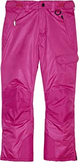 Arctic Quest Childrens Water Resistant Insulated Ski Snow Pants