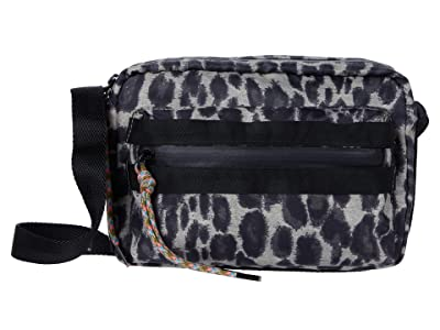 Rebecca Minkoff Downtown Nylon Camera Bag (Leopard) Handbags