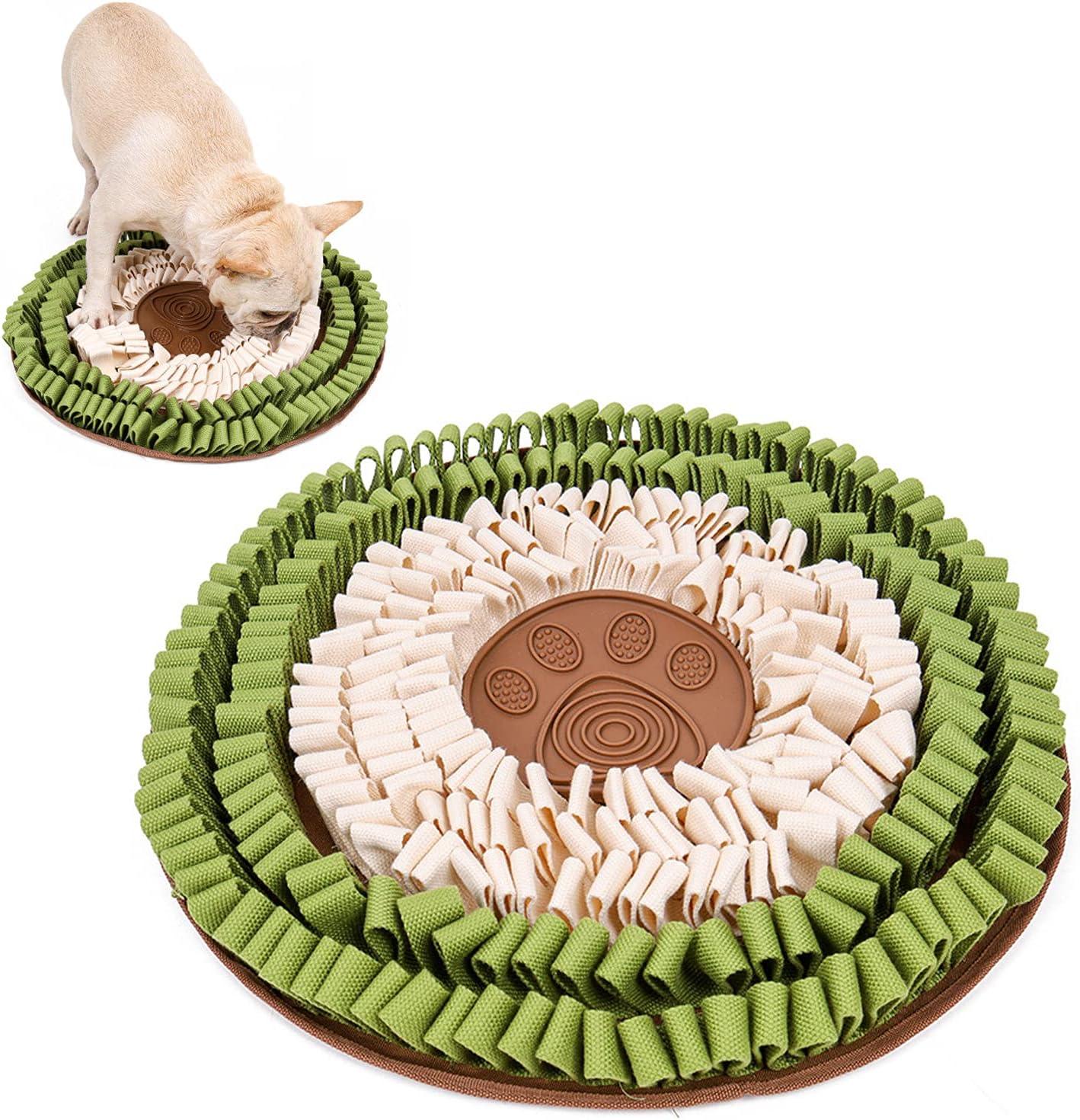SZGR Snuffle Mat Interactive Dog Superior Boredom for Toys D Miami Mall Bowl