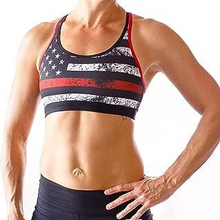 thin red line sports bra