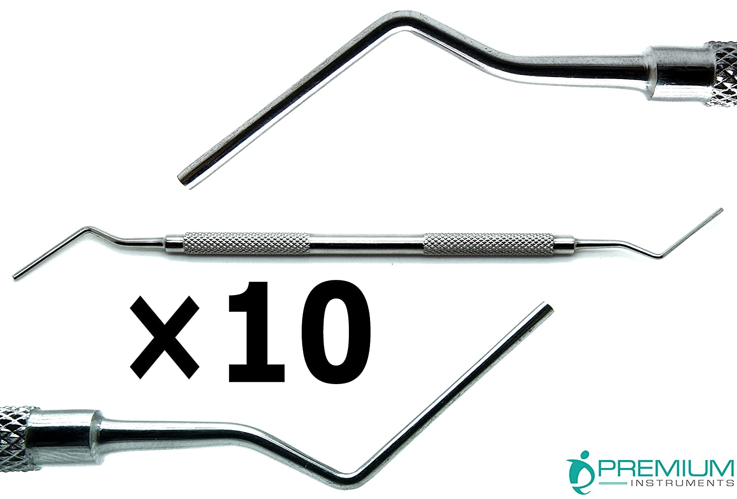 10× Dental Root Canal Plugger 5 Sale item Our shop OFFers the best service 0.50mm 7 Double Ended 0.75mm