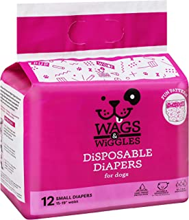 """Wags & Wiggles Female Dog Diapers 