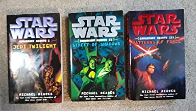 Star Wars: Coruscant Nights Trilogy: Jedi Twilight, Street of Shadows, and Patterns of Force