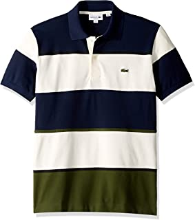 Men's S/S Technical Pique Colorblock Polo