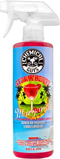 Chemical Guys AIR_223_16 Strawberry Margarita Premium Air Freshener and Odor Eliminator (16 oz)