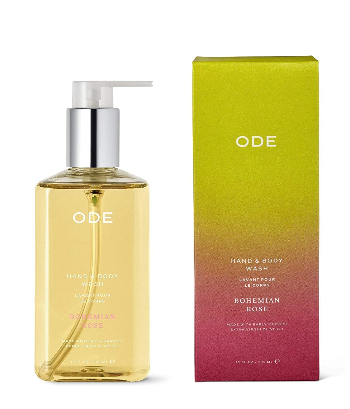 ODE natural beauty - Bohemian Rose Hand and Body Wash