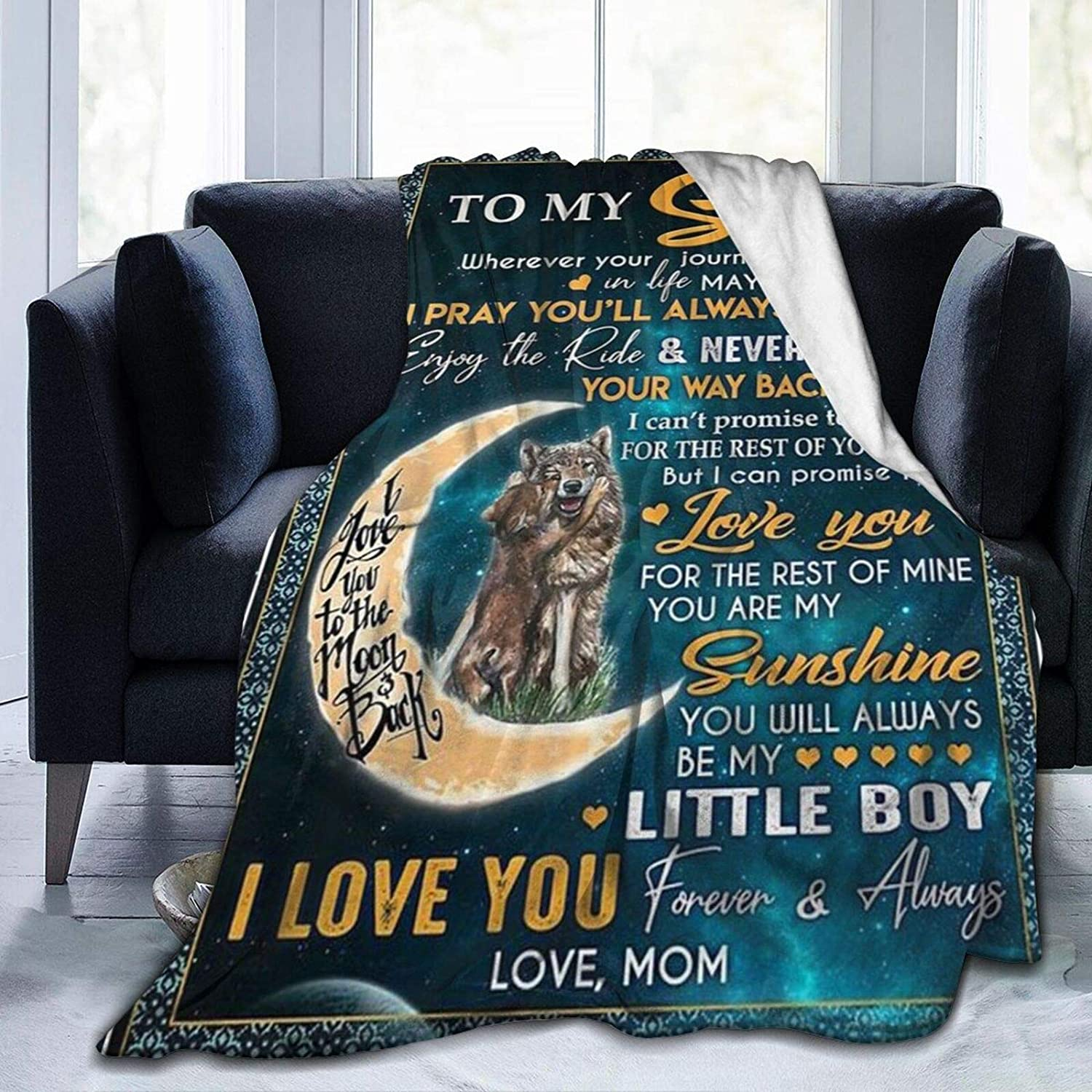PNNUO Fleece Throw Blanket-to My from are Weekly update You Popular products Sunshine Son