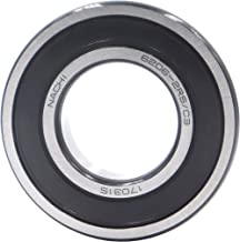 FGen NACHI Nazhibi 6206-2RS Single Row Deep Groove Radial Ball Bearing, C3 Clearance,(30MMX62MMX16MM) Bearing High Speed Motor Water Pump