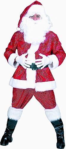 al precio mas bajo Zauberclown mágica mágica mágica payaso Hombre Hombre Navidad Disfraz Juego de peluche de Santa Claus de Papá Noel, M L, Color rojo  buena reputación