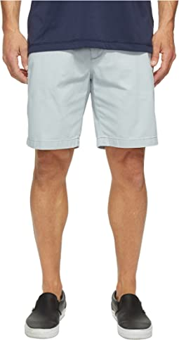 Anchor Twill Flat Front Shorts