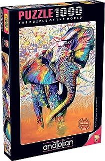 Anatolian Afrika Renkleri 1000 Parça Puzzle 1054