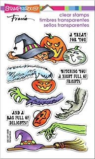 STAMPENDOUS Clear Stamps STAMPND Fright GFT