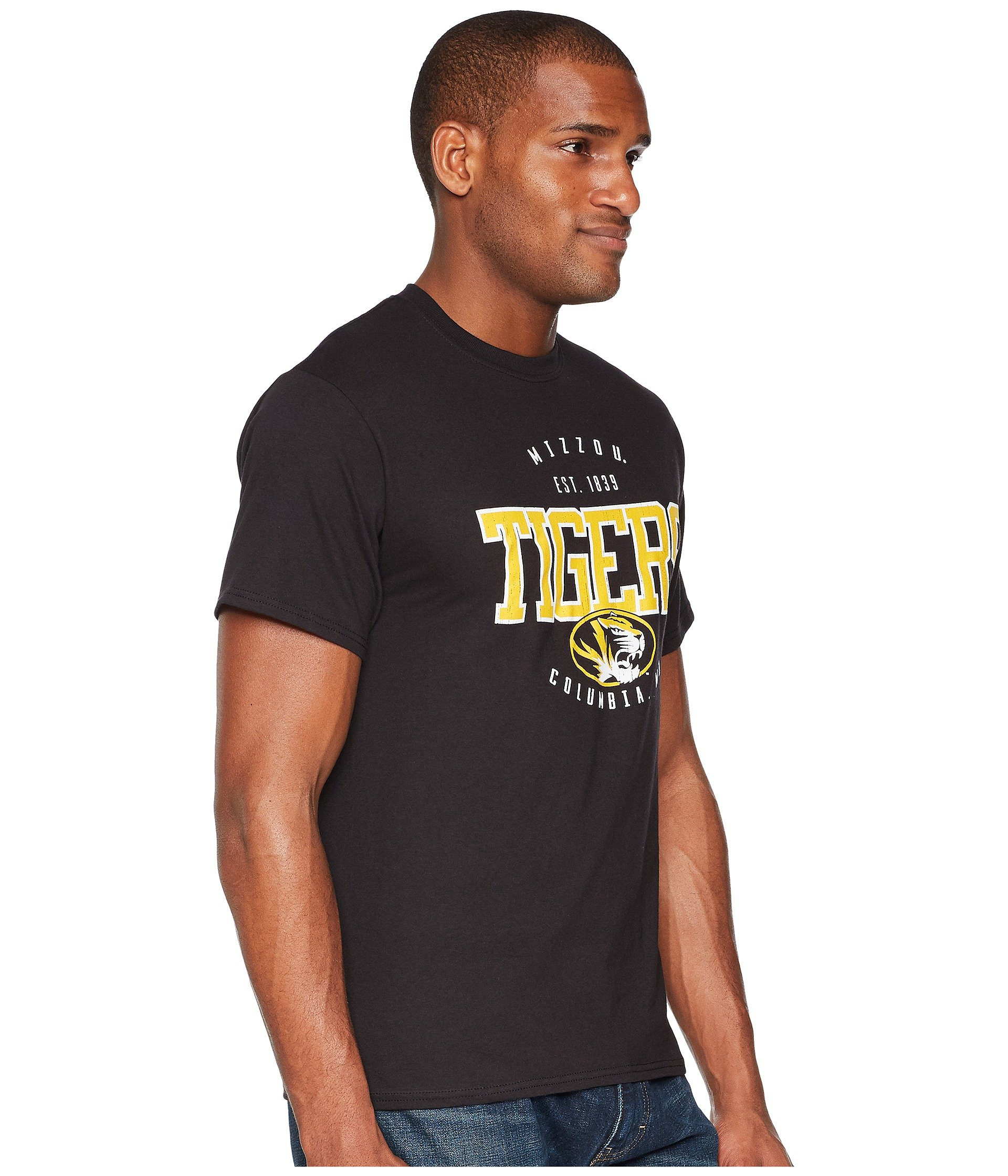 Champion Tigers Missouri Jersey College Tee Black qwHvgFxwnr