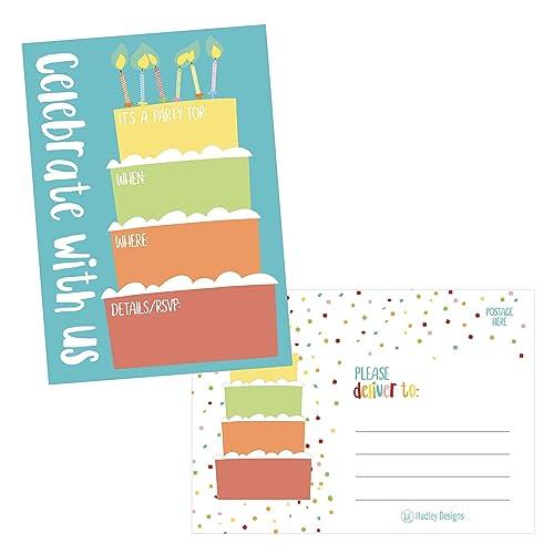 1st Birthday Boy Invitations: Amazon com