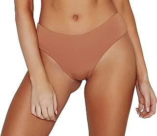 ToBeInStyle Women's Seamless Moderate Coverage Seamless Bikini Bottom