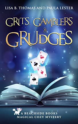 Grits, Gamblers and Grudges (Beachside Books Magical Cozy Mystery Book 3) (English Edition)