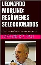 """LEONARDO MORLINO: RESГљMENES SELECCIONADOS: COLECCIГ""""N RESГљMENES UNIVERSITARIOS NВє 73 (Spanish Edition)"""