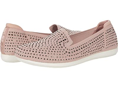 Clarks Carly Dream (Dusty Pink Knit/Sparkles) Women