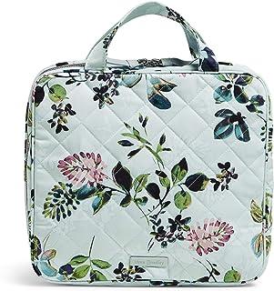 حقيبة منظمة للسفر من نسيج قطني مضلع بسحاب من فيرا برادلي
