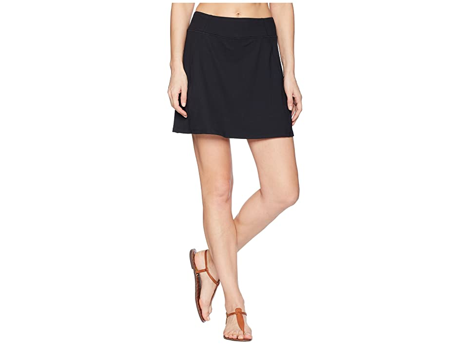 Aventura Clothing Stratus Skort (Solid Black) Women
