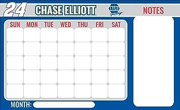 NASCAR #24 Chase Elliot Magnetic Dry Erase Memo Board Calendar-NEW for 2017!