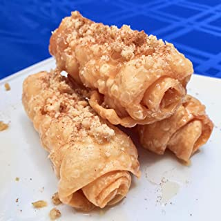 Diples Hand Made Traditional Greek Pastry, 3 rolls