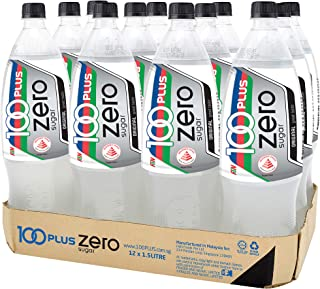 100 Plus Zero Sugar, 1.5L (Pack of 12)