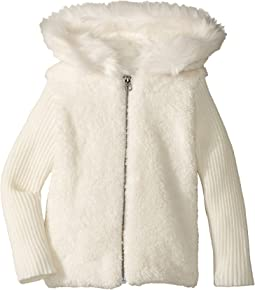 Splendid Littles - Faux-Fur Sherpa Hoodie Jacket (Toddler)