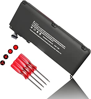 A1331 A1342 Laptop Battery Replacement for Apple MacBook Unibody 13 inch (Only for Late 2009, Mid 2010) 661-5391 661-5585 MC207LL/A MC516LL/A and MacBook Air MC233LL/A MC234LL/A