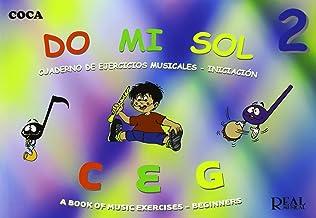 Do Mi Sol, Vol.2 Cuaderno de Ejercicios Musicales - Iniciación (RM Pedag.Musica y Movimiento)