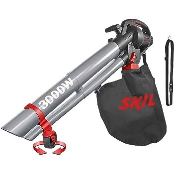 Skil 0796AA - Soplador, aspirador y triturador de hojas con rueda ...