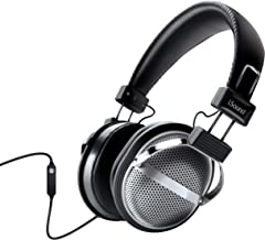 iSound DGHP-5526 HM-270 Stereo Headphones with Inline Mic & Volume, Black